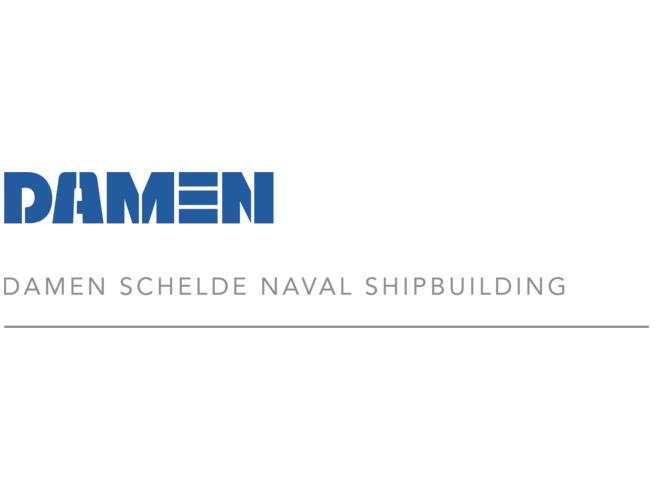Damen Schelde Naval logo